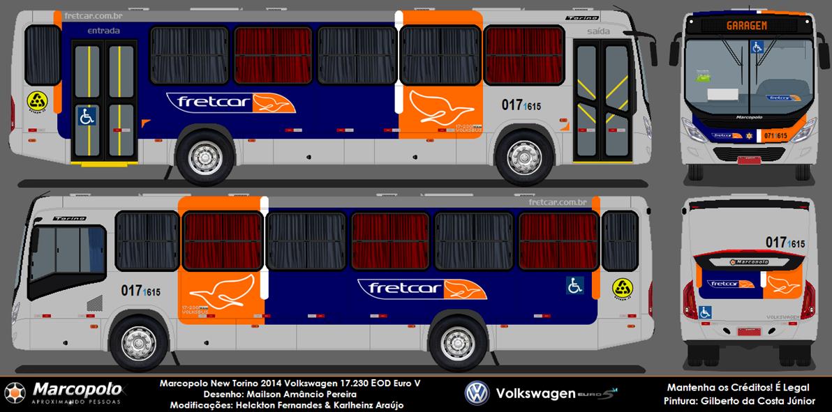 Marco Polo Torino : Marcopolo new torino fretcar transportes